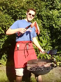 Young Isaac - barbecuing since 2006